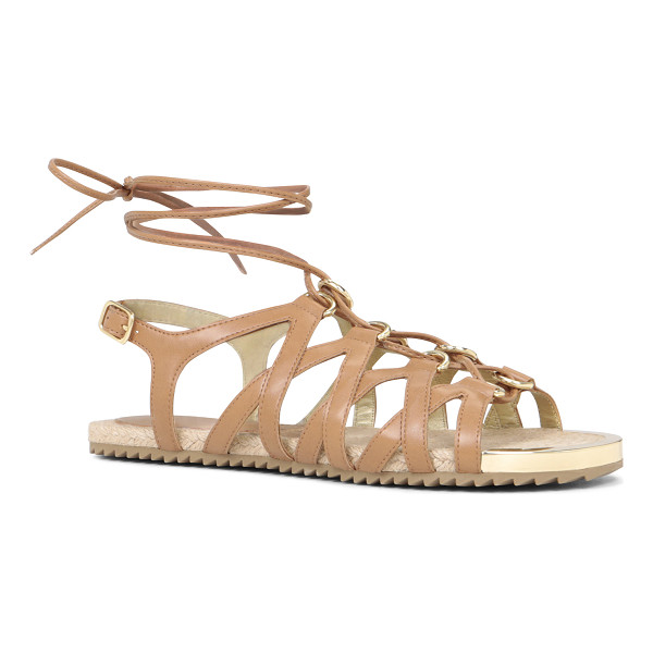 ALDO Lidia sandals - Multi-strap ankle wrap. - Rubber sole. - Round toe. - Open...