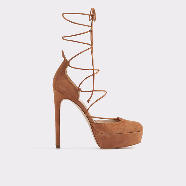ALDO Lucielle - A standout platform dress shoe features wrap-around ankle