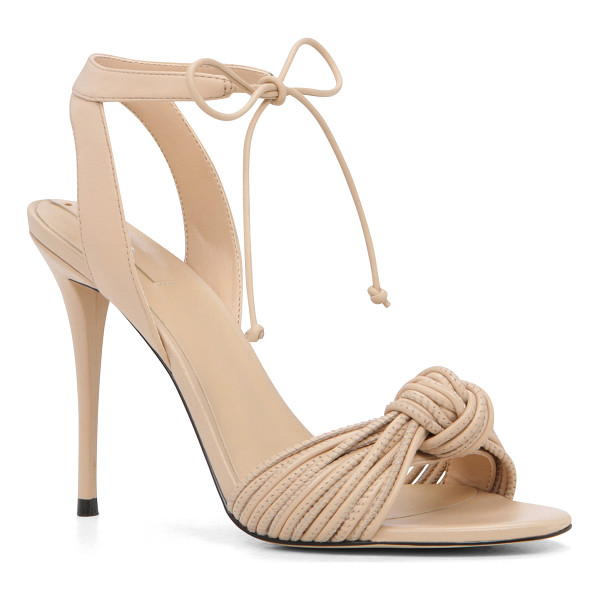 ALDO Lyvie - So hot on our heels: A tied-knot motif updates the...