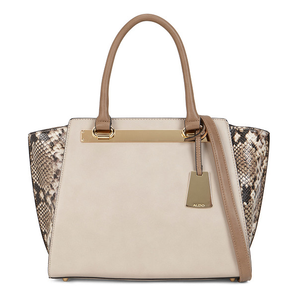 ALDO Macnutt shoulder bag - This beautiful two-tone tote will work amazingly well with...