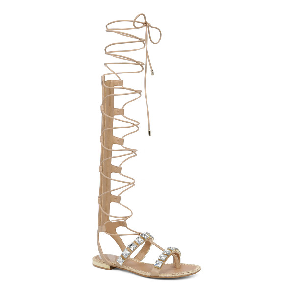 ALDO Maricel - A hit with high hemlines. Knee-high lace-up gladiator...