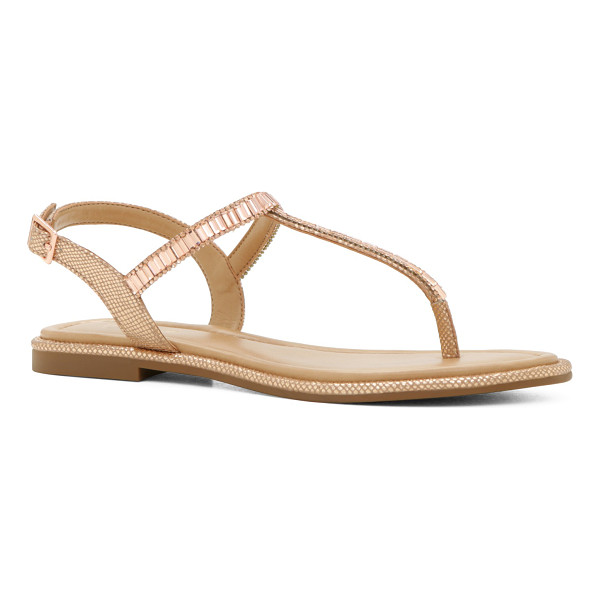 ALDO Mazzorno-U - Glam up your go-to sandal with shiny embellishments and let...