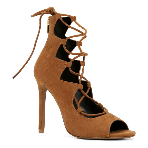 ALDO Miroiwen pumps - Get your hands on these beautiful lace-up pumps for a...