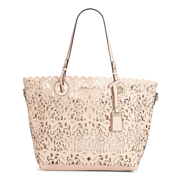 ALDO Montemesola shoulder bag - Intricate laser cut pattern is a modern reinvention of the...