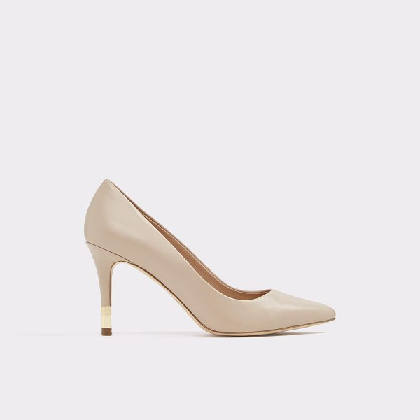 ALDO Montii - This dressy little pointed toe pump with a touch of gold on...