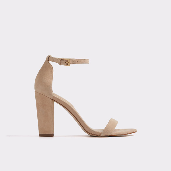 ALDO Myly - Bold, block heel and skinny straps make a play on