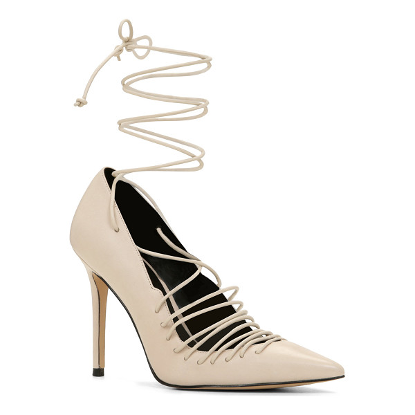 ALDO Nanna pumps - Take a walk on the wild side with these edgy pointy-toe...