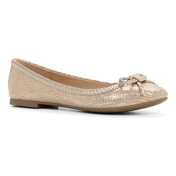 ALDO Narerien flats - This classis ballet flat is a great pairing this season for...