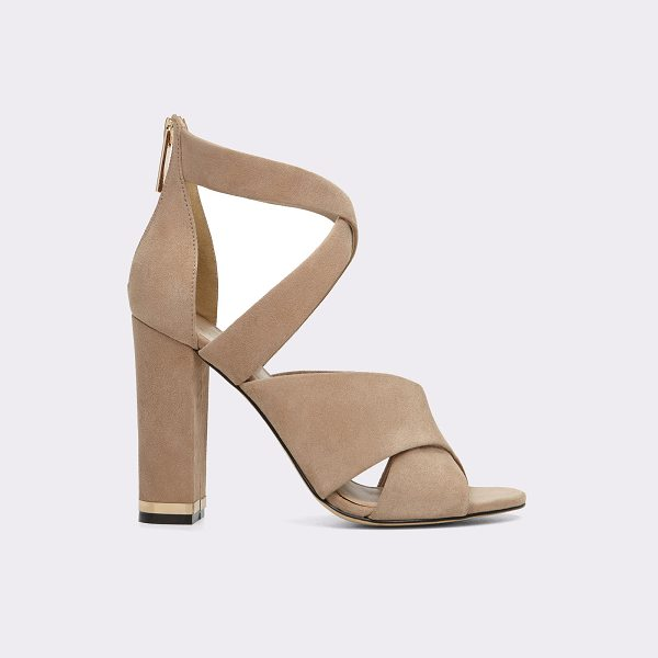 ALDO Nydaen - Pump up your style with a strappy design and a block heel....