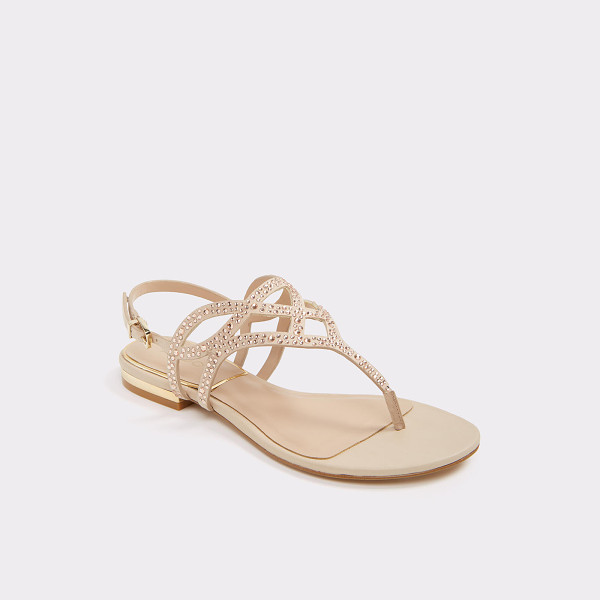 ALDO Raeni - Dazzle on sunny days in this sparkling thong sandal,...