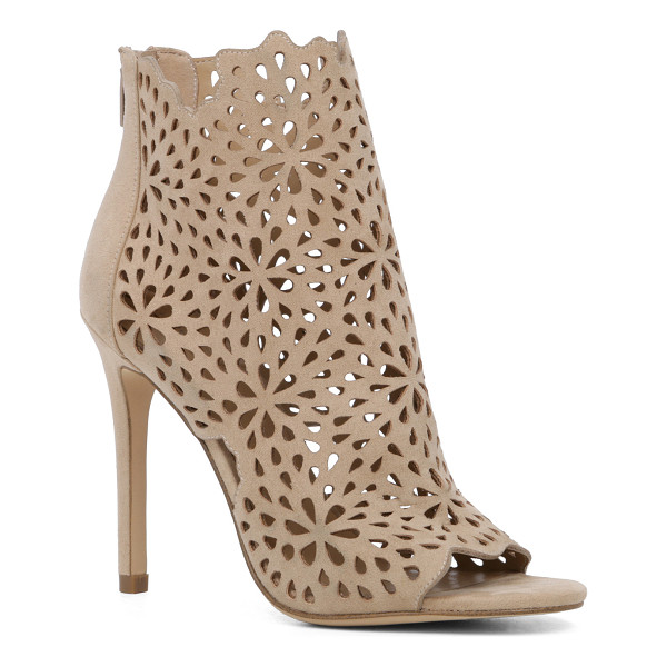 ALDO Ralidien - This absolutely stunning bootie features a floral crochet...