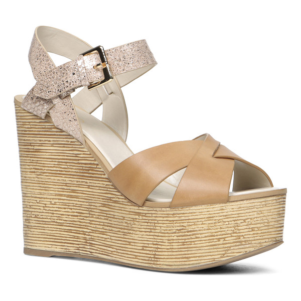 ALDO Regnano sandals - Be the center of attention with these gorgeous wedge...