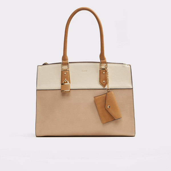 ALDO Retriever - Structured large tote with ample interior space and lock...