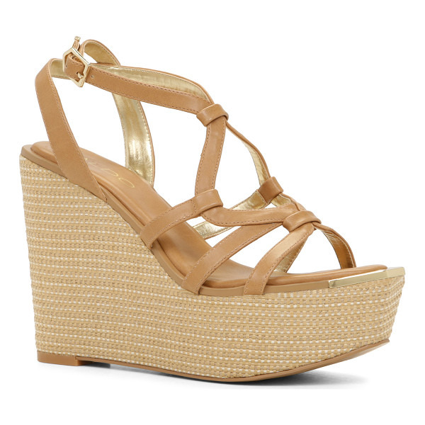 ALDO Rhona - You'll make quite an entrance with these stunning wedge...