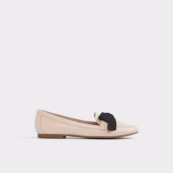ALDO Rosolen - A polished slip-on leather loafer features cushioned insole...