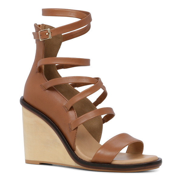 ALDO Russella - Sexy-made-subtle achieved in a strappy wood wedge sandal.