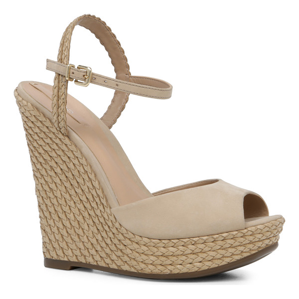 ALDO Shizuko - A tisket a tasket, this wedge sandal was inspired by a...