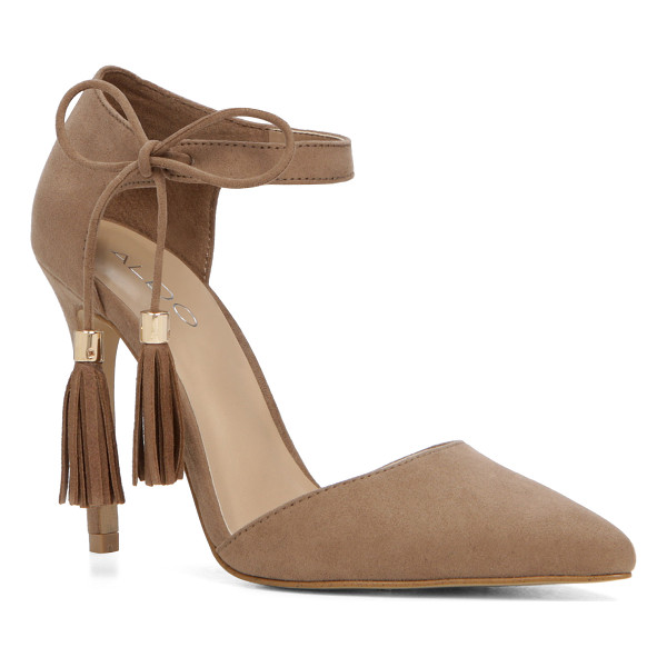 ALDO Thaella - A two-piece pump plays the free-spirit with boho fringe....