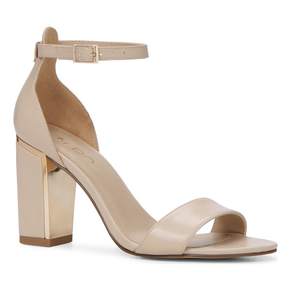 ALDO Trylla - A block heel gives a new meaning to sexy: it is totally...