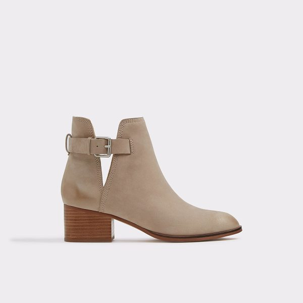 ALDO Ultra - Our Nubuck boot with thick block heel is the ultimate boot...