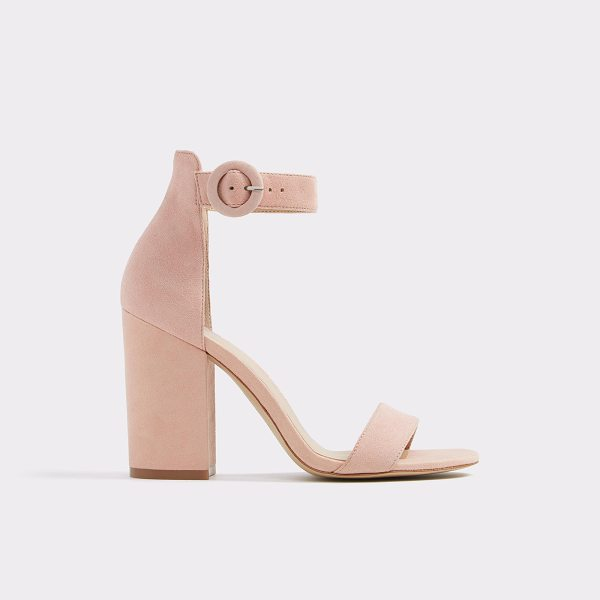 ALDO Umaewen - A classic summer essential, our bare all block heel sandal...