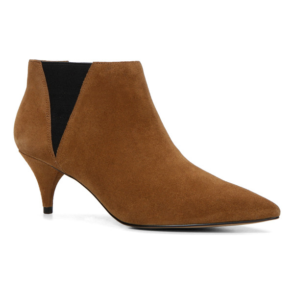 ALDO Vallucci - A kitten heel glams up a Chelsea boot for just the right...
