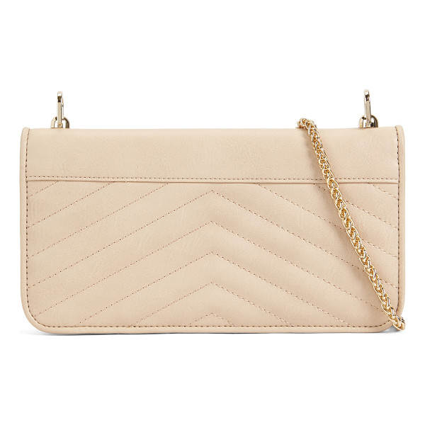 ALDO Valsecca - Lush detail goes lightweight with this quilted wallet, made...