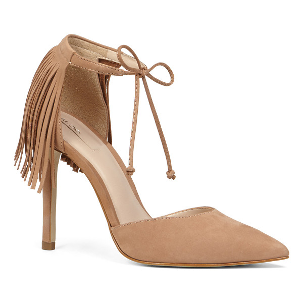 ALDO Venosta - Fringe details amplify the oomph quotient on our new...