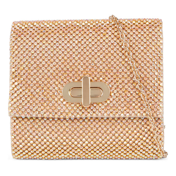 ALDO Vine clutch - Featuring a turn lock closure and dazzling rhinestone...