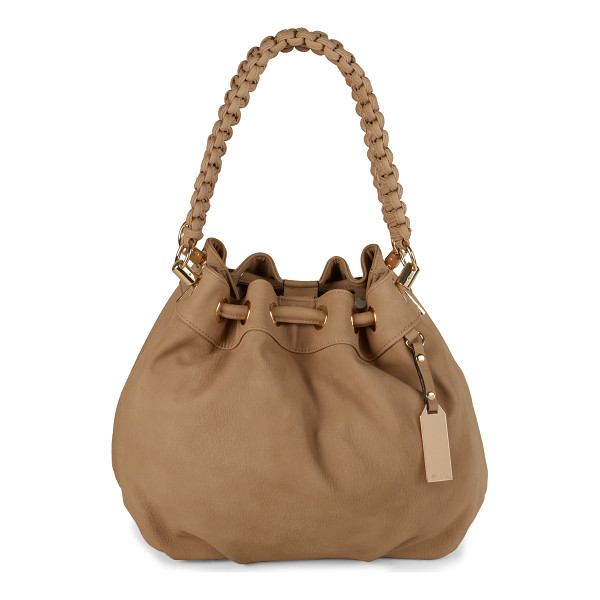 ALDO Whitepine shoulder bag - Satchel Bag. - Drawstring Closure. - Metal detail. -...