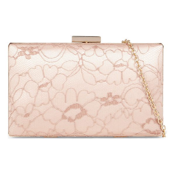 ALDO Wire clutch - A massive embroidery pattern puts the finishing touch to...