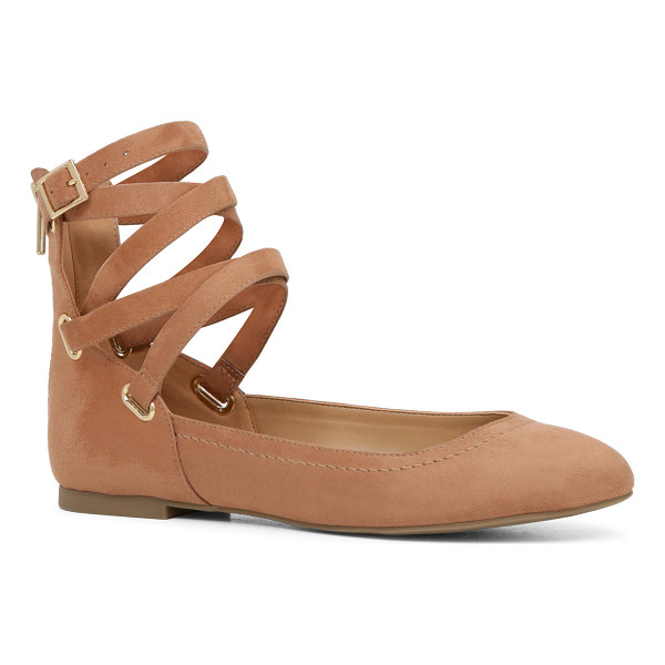 ALDO Zaitz - This ballerina flat steps out of the studio with the ankle...