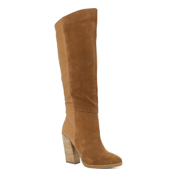 ALDO Zetta - Dress up a pair of jeans with these paneled tall boots....