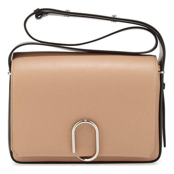 3.1 PHILLIP LIM Alix Flap Shoulder Bag - 3.1 Phillip Lim two-tone smooth leather messenger bag....