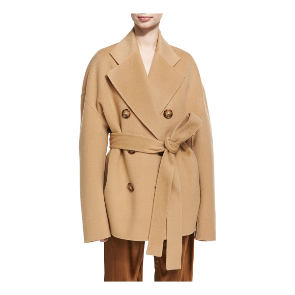 """ACNE STUDIOS Claar Double-Breasted Wool-Cashmere Coat - Acne Studios """"Claar"""" coat in double-faced wool-cashmere..."""