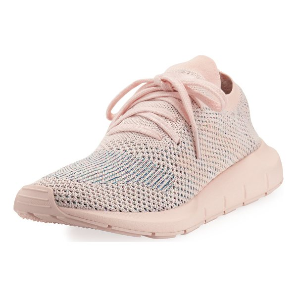 ADIDAS Swift Run Pk Knit Trainer Sneaker - Built for fast hiking on rugged terrain, these women's...