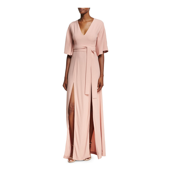ALEXIS India V-Neck Slit Front Maxi Dress - ONLYATNM Only Here. Only Ours. Exclusively for You. Alexis...