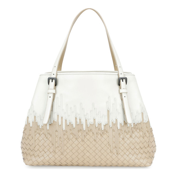 BOTTEGA VENETA Medium Flow Wave Intrecciato Tote Bag - Bottega Veneta signature intrecciato woven lambskin tote