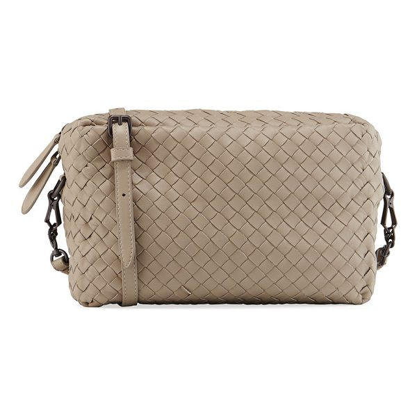 BOTTEGA VENETA Small Intrecciato Camera Bag - Bottega Veneta camera bag in signature intrecciato woven...