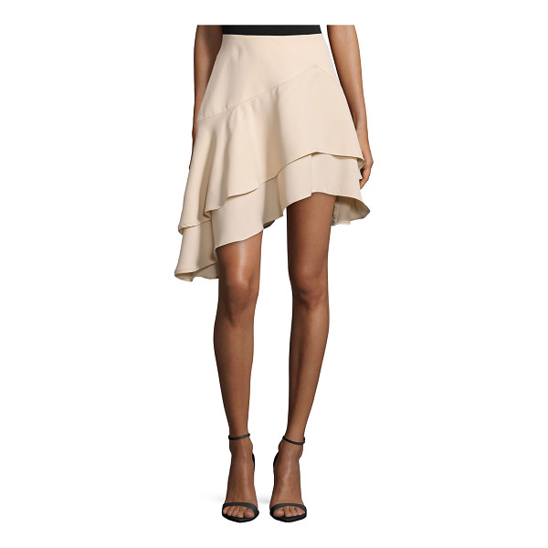 """CAMEO Easy love asymmetric-layer skirt - Cameo """"Easy Love"""" skirt. Mid rise. A-line silhouette...."""