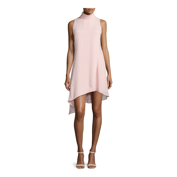 CAMILLA AND MARC Sleeveless High-Neck Asymmetric Cocktail Dress - Camilla and Marc cocktail dress in flowy georgette. Approx....
