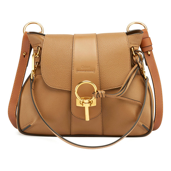 CHLOE Lexa Small Shoulder Bag - Chloe soft grain lambskin and smooth calfskin shoulder bag.