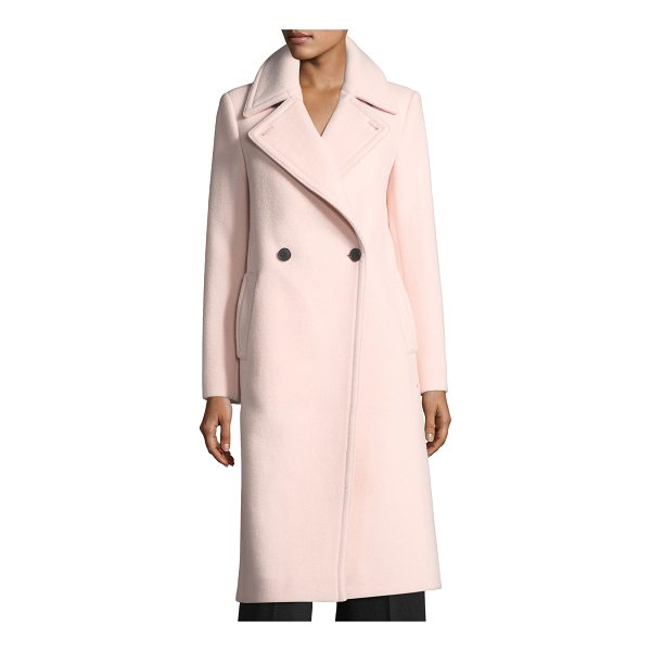 "CLUB MONACO Daylina Double-Button Long Wool Coat - Club Monaco ""Daylina"" signature wool coat. Notched lapel;..."