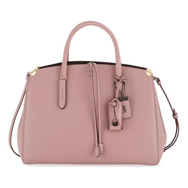 COACH Cooper Glove-Tanned Carryall Tote Bag - Coach 1941 smooth tote bag in glove-tanned leather. Rolled...