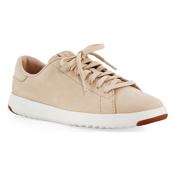 COLE HAAN Grand Pro Tennis Sneaker - Cole Haan tennis-inspired sneaker in leather. The most