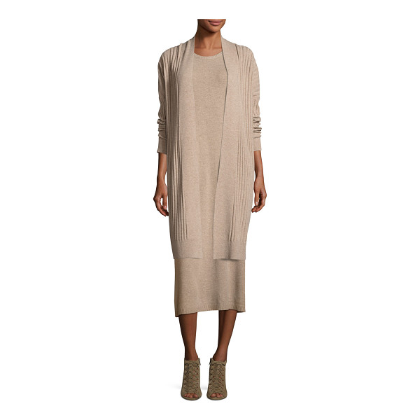 EILEEN FISHER Fisher Project Cozy Ribbed Elongated Cardigan - Eileen Fisher ribbed knit cardigan. Available in multiple...