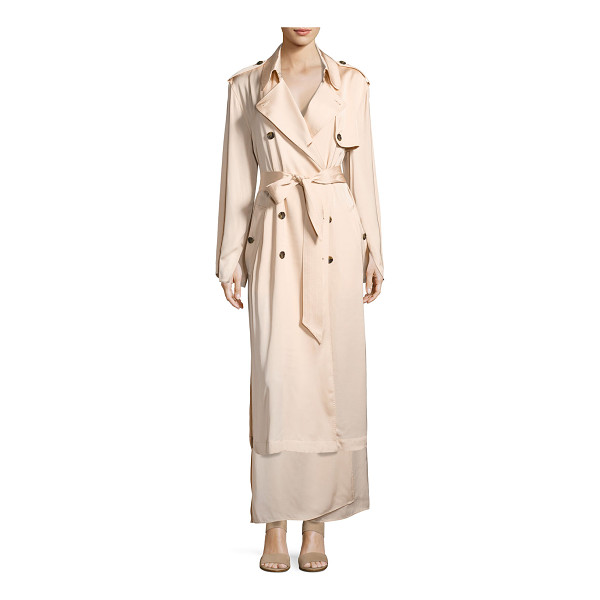 """ELIZABETH AND JAMES Aaron Oversized Trench Coat - Elizabeth and James """"Aaron"""" oversized trench coat with side..."""