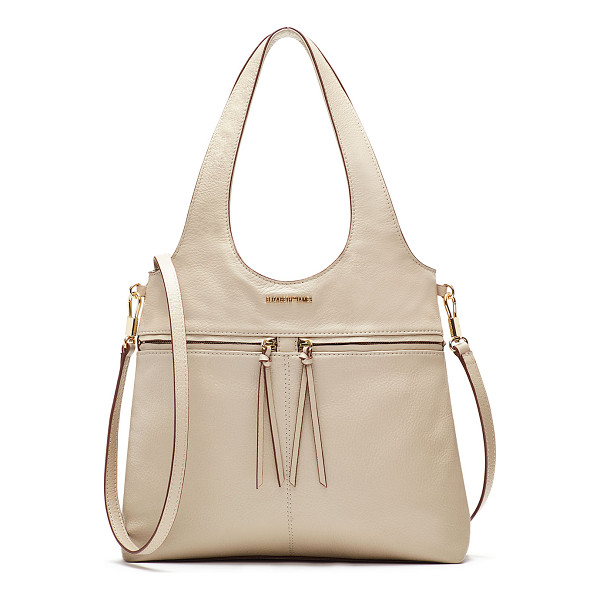 ELIZABETH AND JAMES Zoe Small Carryall Tote Bag - Elizabeth and James carryall bag in pebbled leather. Golden...