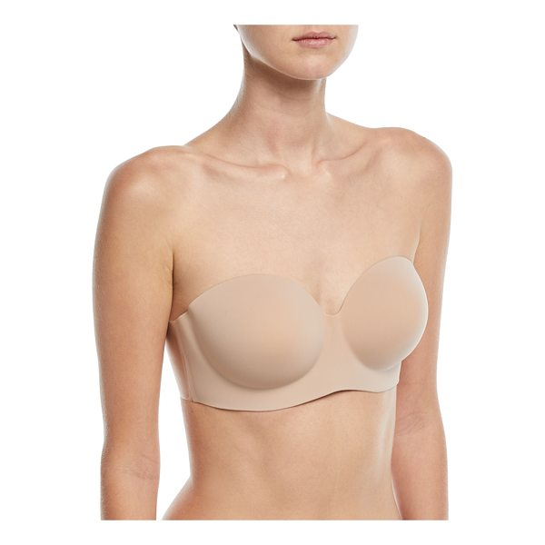 "FASHION FORMS Voluptuous Backless Strapless Bra - Fashion Forms ""Voluptuous"" bra. Top of cup contains a line..."