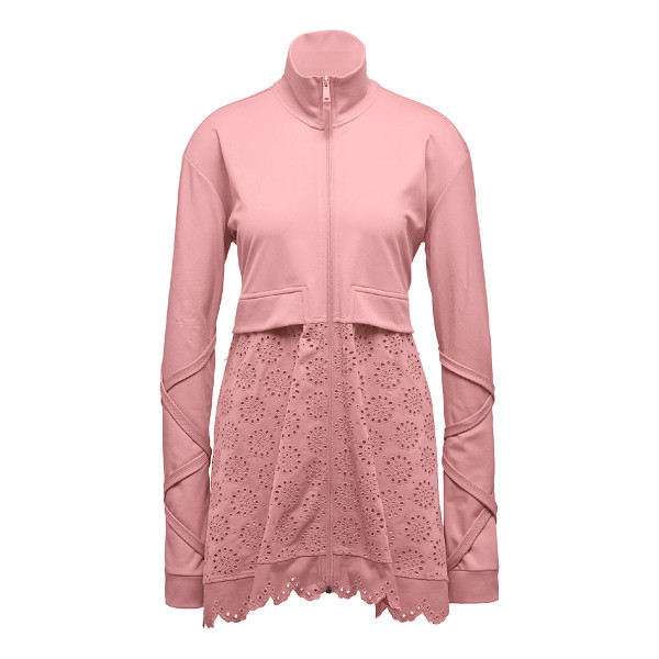 FENTY PUMA BY RIHANNA Tricot Jacket W/ Embroidered Skirt - Fenty Puma by Rihanna tricot jacket featuring a die-cut...